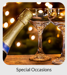 Special occasions - including weddings