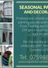 Seasonal Painters & Decorators